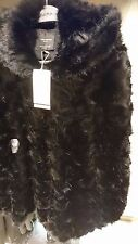 ZARA WOMAN aw 2017 COAT WITH FAUX FUR HOOD XS-XXL REF. 1255/262