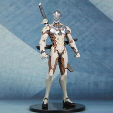 New Ow Overwatch Action Figure Genji Pvc Statue 25cm High Toy Gift Collection