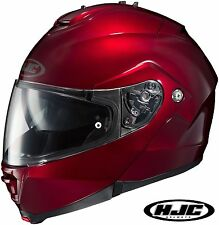 HJC IS-MAX 2 Wine Modular Helmet With SunShield Visor System
