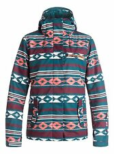 Women's ROXY Jetty Insulated 3-N-1 Jacket Snow Snowboard Ski ETHNIKSTRIPE *S M*