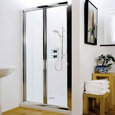 Bi fold shower door shower enclosures ebay for 1800mm high shower door