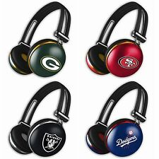 iHip The Noise Headphones NFL Football Team Audio Mp3 Stereo Headset with Mic