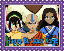 AVATAR Edible Birthday Cake Topper OR Cupcake Topper, Decor