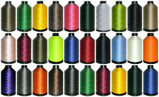 40'S 3000MTRS, STRONG BONDED NYLON THREAD UPHOLSTERY LEATHER WORK, ASSORTED COLS