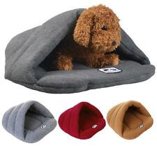 COZY Puppy Pet Cat Dog Nest Bed Puppy Soft Warm Cave House Sleeping Bag Mat Pad.