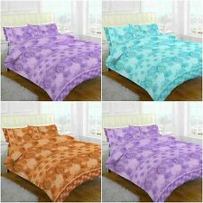 NEW PAISLEY FLORAL DUVET QUILT COVER BEDDING SET SINGLE DOUBLE KING SUPERKING