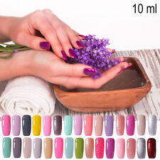 2016 Popular Colorful UV Gel Polish Soak off LED Lamp Gel Nail Art Polish 10ml