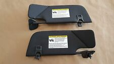 2010-2014 Mustang 5.0 GT500 Shelby Coupe Sun Visors Pair