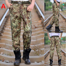 Fashion Mens Pants Military Pants Tactical Pants Cargo Hiking pants
