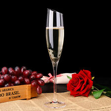 27CM Height Lead-free Champagne Goblet Glasses Crystal Glass Wine Cup