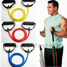 Hot  Exercise Latex Resistance Bands Tube Workout Gym Yoga Fitness Stretch