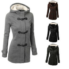 DOKER Winter Women Thicken Warm Coat Hood Parka Long Jacket Overcoat Outwear New