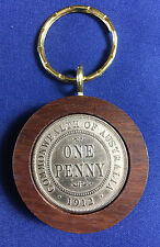 1912 Birthday Gift Present Jarrah Penny Keyring other years available