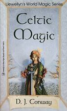 Celtic Magic by D.J. Conway Llewellyn's World Magic Series Paperback 2002
