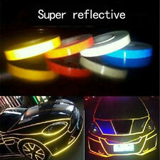 1.5CM x3M  Reflective Sticker Tape Car Truck Body Stripe DIY Self Adhesive Decal
