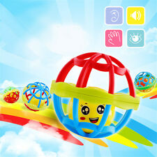 Cute Infant Developmental Baby Toy Rattle Musical  Kids Handbell Toy Bed Bell