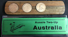 1936 Birthday Gift Present Aussie Two-Up game set other penny years available