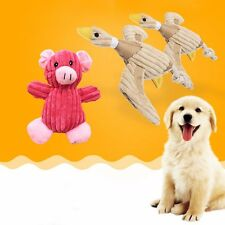 Pet Cat Dog Puppy Chew Squeaker Squeaky Plush Sound Duck Pig Frog Training Toy