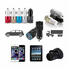 12V Car Dual 2 Port USB Socket Charger Adapter For iphone 5 6s Samsung HTC hot p