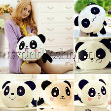 Lovely Panda Plush Toy Doll Stuffed Animal Soft Sofa Pillow Cushion Bolster Gift