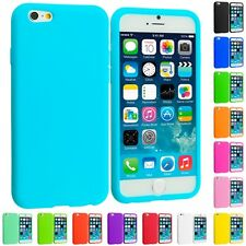 For Apple iPhone 6S (4.7) Silicone Case Rubber Soft Skin Cover Accessory