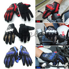 Motorcycle Motocross Racing Fiber Gloves Pro-Biker Riding Protective Gloves M-XL