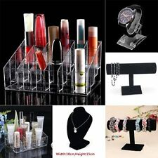 Clear 24 Makeup Cosmetic Lipstick Storage Display Stand Rack Holder Organizer EW
