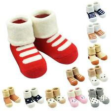 SALE New Baby Anti Slip Shoes Cartoon Slipper Boots Socks Indoor Shoes 0-12M