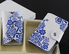 Hot Holder Gift Leather Business Card Case Creative Box New ID Credit Card