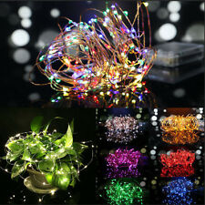 30cm 30 LED String Fairy Lights Copper Wire Battery Powered Waterproof DIY Xmas