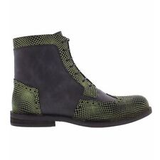 Fly London IRus 909 Opti/Sole Green Blak Mens Boots