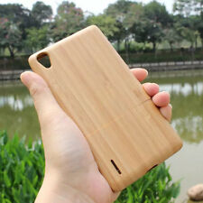 Original Natural Real Bamboo Wooden Hard Protective Case Cover Skin For HUAWEI