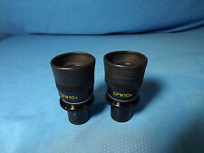 Pair Nikon CFW 10x Microscope Eyepieces Optiphot Labophot Microphot Diaphot 23mm