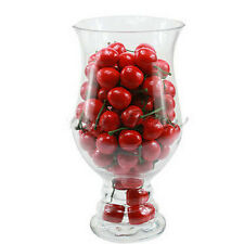 New 20pcs Artificial Plastic Cherry Food Wedding Party Decorative Decor タ
