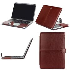"""For Macbook Pro 13"""" A1706/1708/15"""" A1707 2016 PU Leather Laptop Sleeve Bag Case"""