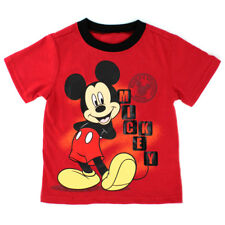 Disney Mickey Mouse Toddler Boys Short Sleeve Tee T-Shirt Top 4YM6935F 2T 3T 4T