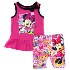 Disney Minnie Mouse Toddler Girls Tank Top and Shorts Set 4YM7199 2T 3T 4T