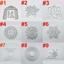 Cutting Dies Stencil Scrapbook Album Paper Card Embossing DIY Craft