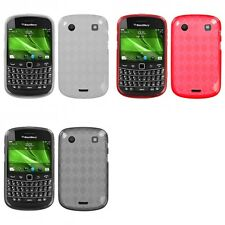 For BlackBerry Bold Touch 9900 9330 TPU Rubber Skin Flexible Case Phone Cover