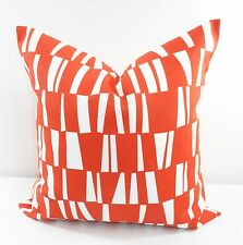Orange Pillow cover.Indoor/Outdoor.Polyester. stain & dirt resistant.Select size