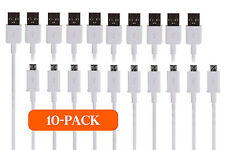 10x 3Ft OEM Rapid Charge Micro USB Cable Fast Charge Cord For Samsung Android