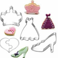 Crown Love Baking Mold Stainless Steel Biscuit Cake Decoration Cookie Cutter