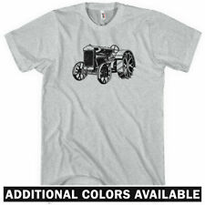 Tractor V1 T-shirt - Men S-4X  Gift Hipster Farming Farmer Equipment Vintage USA