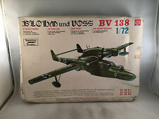 Super Model Blohm und Voss BV 138 1:72 Scale Plastic Model Kit 10-017 Open Box
