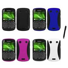 For BlackBerry Bold Touch 9900 9330 Hybrid Rugged Impact Hard Case Stylus Pen