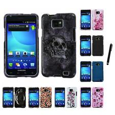 For Samsung Galaxy S2 i9100 Design Snap-On Hard Case Phone Cover Stylus Pen