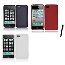 For Apple iPhone 4/4S Snap-On Design Hard Phone Case Cover Stylus Pen