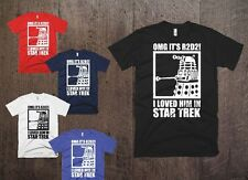 R2D2 Dalek Star Wars Dr Who Trek Funny T-shirt Geek Gift Navy Blue Top SciFi