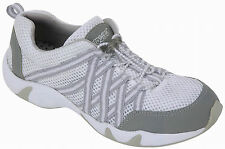 Rocsoc Womens White/Grey Water Shoes Speed Lace Mesh