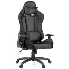 PU Leather & Mesh Reclining Office Desk Gaming Executive Chair